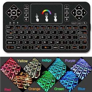 Мини-беспроводная клавиатурная освещением