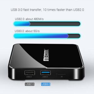Android TV-Box-KM3 ATV DDR4 S905X2 4GB-64GB