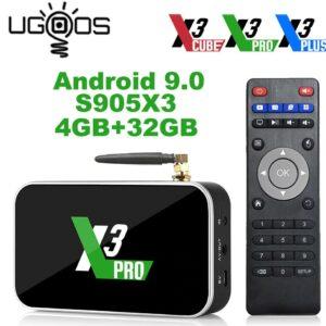 Android TV box -UGOOS X3 PRO S905X3 4 GB-32GB