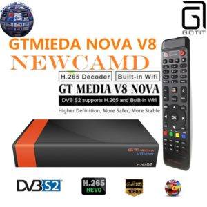 GTMEDIA V8 NOVA-DVB-S2-HEVC-265-Newcamd